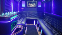 Inside Daytona Limos Sprinter