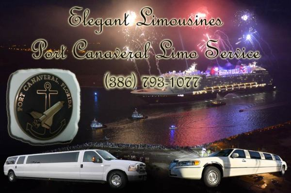 Elegant Limousines Port Canaveral Limo Service 386-793-1077